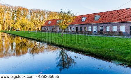 Historic Site Veenhuizen With Historical Buildings And Houses In Noordenveld, Drenthe In The Netherl