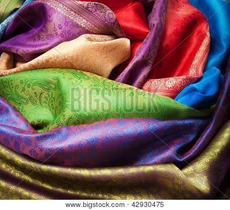 Different Fabrics Closeup