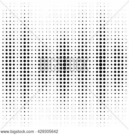 Abstract Halftone Dotted Background. Futuristic Grunge Pattern, Dot, Wave. Vector Modern Stylish Pop