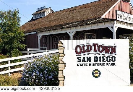 San Diego,ca - April 23,2014:old Town San Diego State Historic Park, California,united States Of Ame