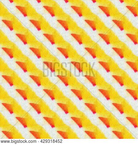 Seamless Tie-dye Pattern  On White Silk. Hand Painting Fabrics - Nodular Batik. Shibori Dyeing.