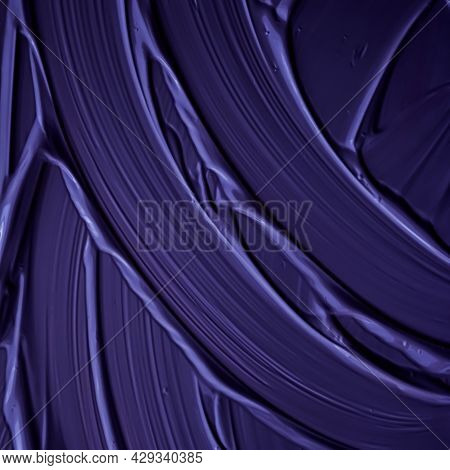 Purple Cream Texture Background, Cosmetic Product And Makeup Backdrop For Luxury Beauty Brand, Holid