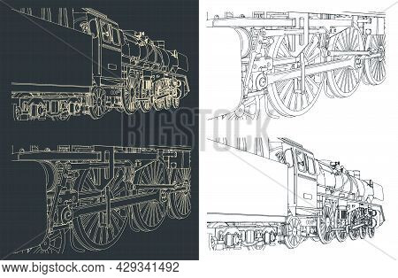Steam Locomotive Close-up