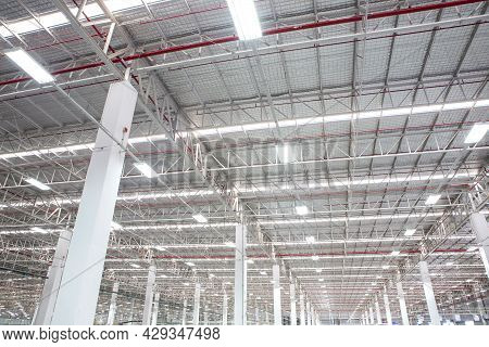 Steel Roof A Trusses In Industrial Plants