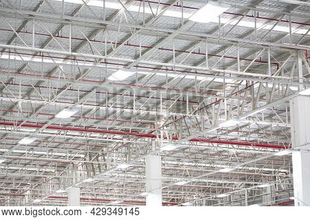 Steel Roof Trusses In Industrial A Plants