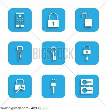 Set Old Key, Unlocked, Casting Keys, Lock Picks For Picking, Repair, Key, Open Padlock And Mobile An