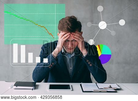 Corporate Financial Crisis Bad Statistics Man Kpi