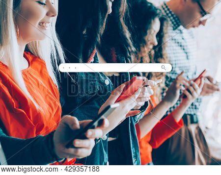 Mobile Browser Virtual Search People Www Tool Bar