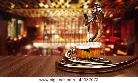 Beer dispenser