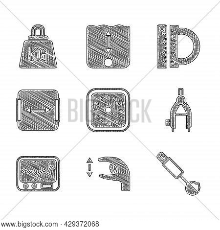 Set Clock, Approximate Measurements, Measuring Spoon, Drawing Compass, Instrument, Area, Protractor