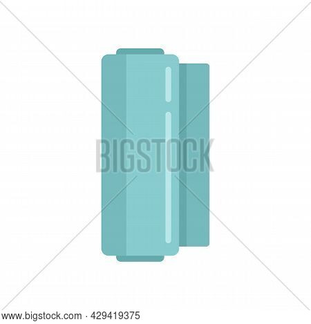 Membrane Roll Icon. Flat Illustration Of Membrane Roll Vector Icon Isolated On White Background