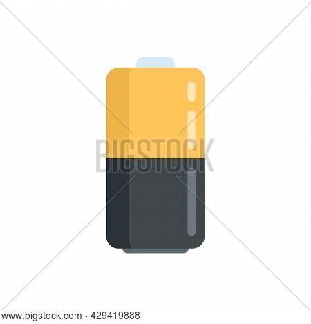 Survival Battery Icon. Flat Illustration Of Survival Battery Vector Icon Isolated On White Backgroun