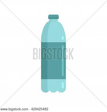 Survival Water Bottle Icon. Flat Illustration Of Survival Water Bottle Vector Icon Isolated On White