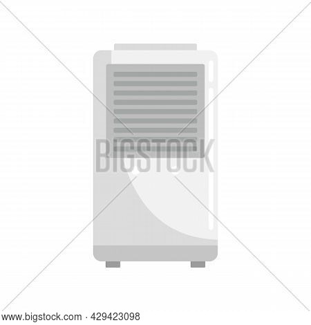 Air Conditioner Stand Icon. Flat Illustration Of Air Conditioner Stand Vector Icon Isolated On White