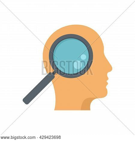 Life Skills Search Icon. Flat Illustration Of Life Skills Search Vector Icon Isolated On White Backg