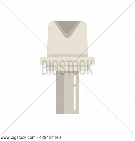 Tooth Restoration Icon. Flat Illustration Of Tooth Restoration Vector Icon Isolated On White Backgro