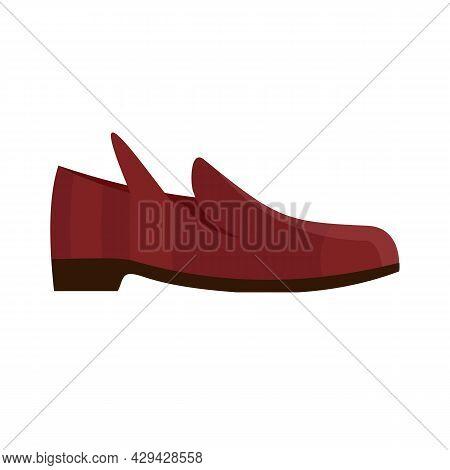 Elegant Shoe Repair Icon. Flat Illustration Of Elegant Shoe Repair Vector Icon Isolated On White Bac