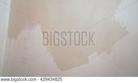 Cement, Mortar Texture Background. Wall For Preparing Wallpaper.