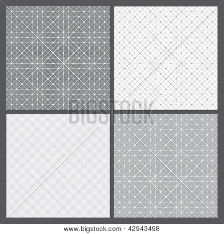 Vector Set: Geometric Patterns