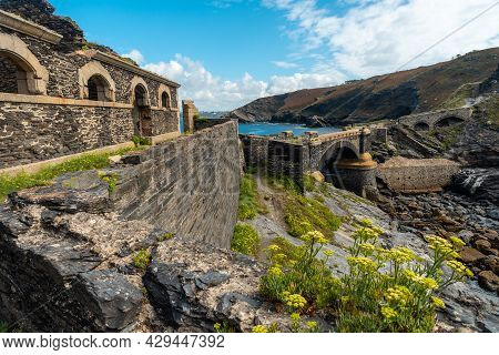 Interiors Of The Fort Des Capucins A Rocky Islet Located In The Atlantic Ocean At The Foot Of The Cl