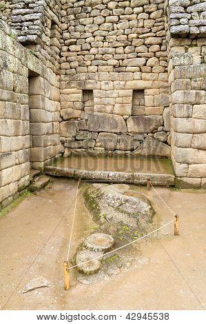 hidden Inca sanctuary of Machupicchu. Cusco, Peru