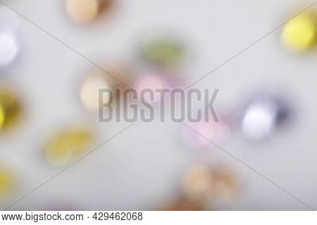 Multi Color Defocused Blur Bokeh Abstract Background