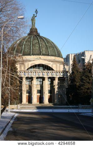 Building Of A Planetarium