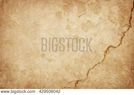 Beige Dirty Old Paper Background, Paper Texture, Aged Paper