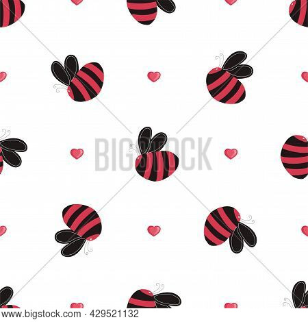 Nice Childish Pattern In Bright Colors. Textile And Fabric Design