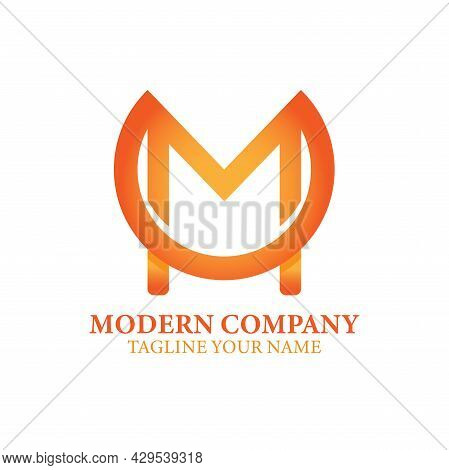 M Letter Design Logo Business Vector. M Letter Vector
