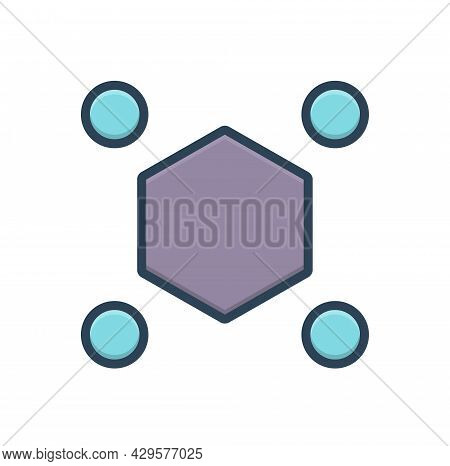 Color Illustration Icon For Odds Difference Distinction Odds  Spacing Distance Disparity