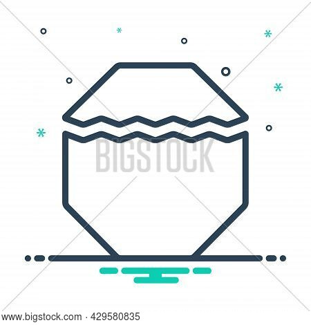 Mix Icon For Part Portion Piece Division Share Slice