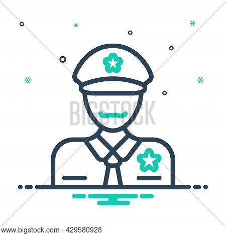 Mix Icon For Officer Commissary Bureaucrat Magistrate Gentleman Officeholder Dignitary