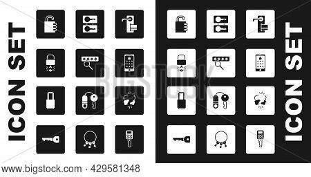 Set Digital Door Lock, Password Protection, Key Broke Inside Of Padlock, Safe Combination, Mobile An