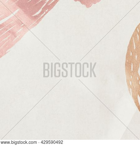 Pastel Neo Memphis social background illustration