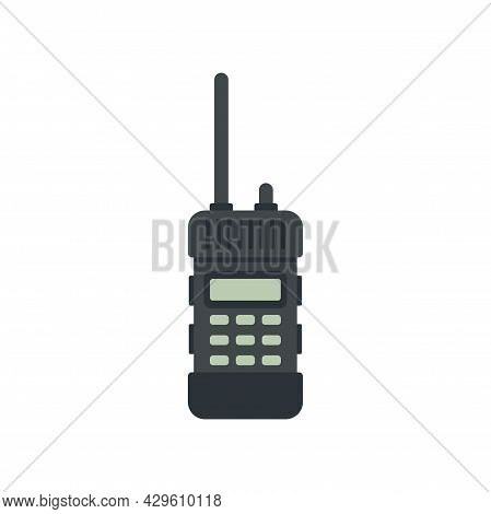 Walkie Talkie Way Icon. Flat Illustration Of Walkie Talkie Way Vector Icon Isolated On White Backgro