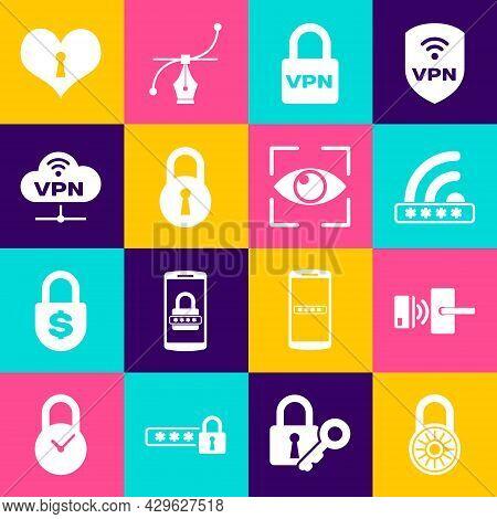 Set Safe Combination Lock Wheel, Digital Door With Wireless, Wifi Locked, Lock Vpn, And Network Clou