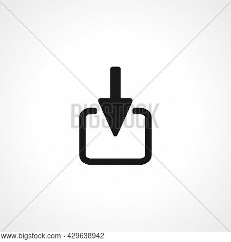 Import Simple Isolated Web Vector Icon On White Background.