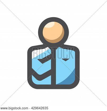 Bribe Taker Men Vector Icon Cartoon Illustration