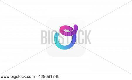 Dynamic Colorful And Playful Letter O Logo Design Element