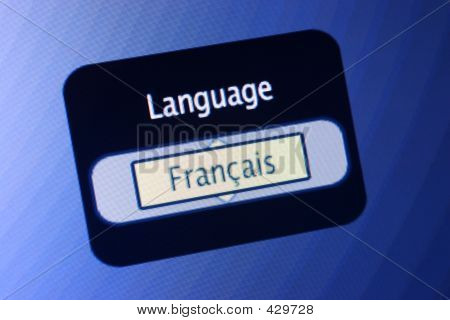 Language Sign - French