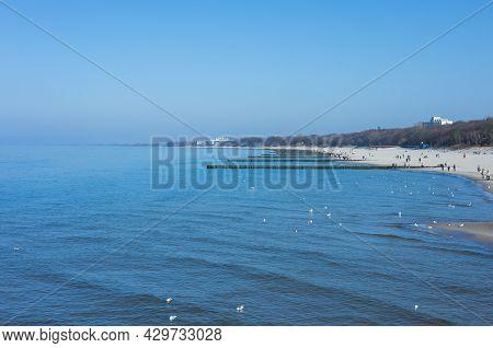 Meer See Strand Natur Landschaft Sommer Ferien