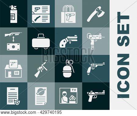 Set Desert Eagle Gun, Revolver, Uzi Submachine, Buying Pistol, Weapon Case, Assault Rifle, Weapons O