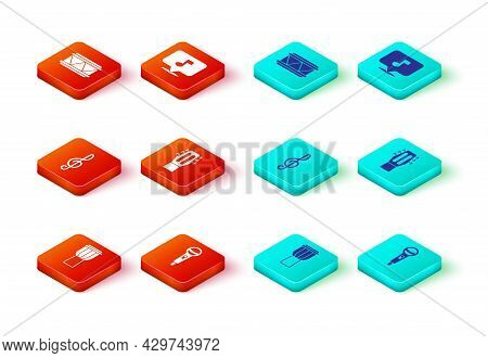 Set Drum, Microphone, Treble Clef, Guitar, Music Note, Tone And Icon. Vector