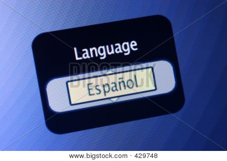 Language Sign - Spanish
