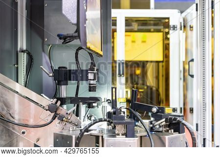 Optic Camera Of High Precision Vision Inspection In Continuous Automation Line For Sort Or Screen Of