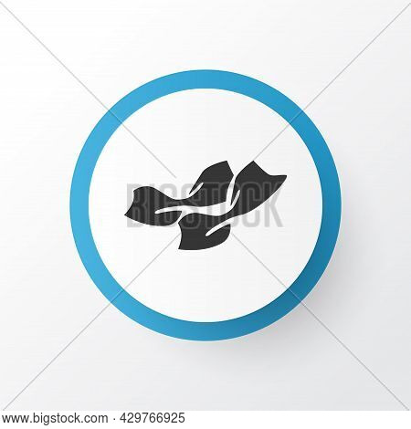 Tagliatelle Corte Pasta Icon Symbol. Premium Quality Isolated Pappardelle Element In Trendy Style.