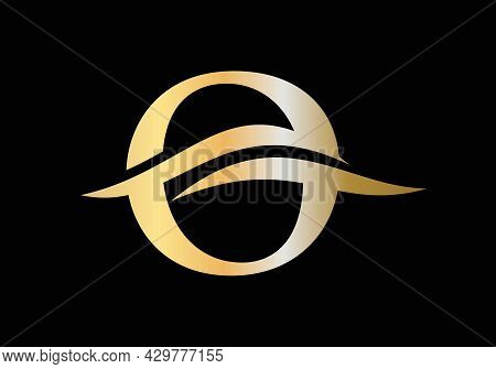 Modern O Logo Design For Business And Company Identity. Creative O Letter With Luxury Concept