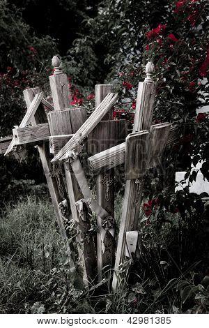 Multiple crosses