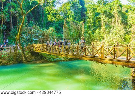 Worlds Most Beautiful Waterfalls Kuang Si Waterfall Luang Prabang Laos.